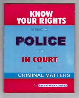 Know Your Rights Against The Police - 2016 Edition